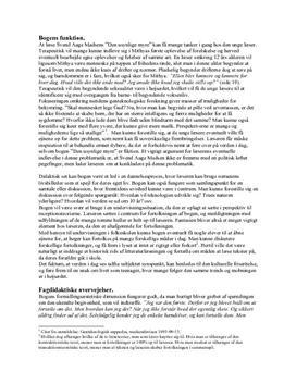 Den usynlige myre | Lærerfaglig analyse