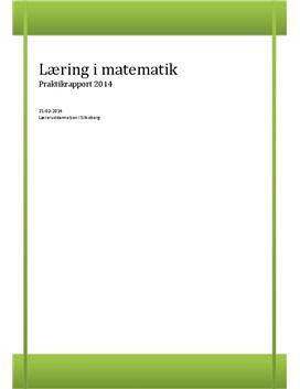 Praktikrapport om Læring i stokastik i 2. klasse