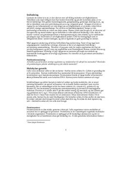 Genetik og arvelighedslære | Biologi