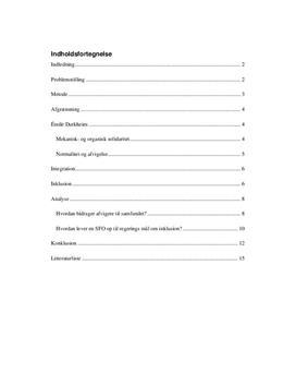 Opgave om inklusion i folkeskolen | Pædagog