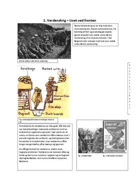 Undervisningsmateriale til 1. verdenskrig