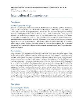 Intercultural Competence | Studieprodukt