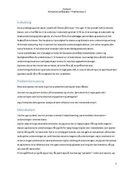 Praktikeksamen om klasseledelse og struktur