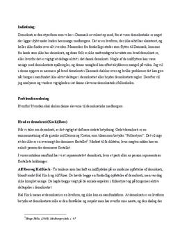 Demokratiske medborgere | KLM | Synopsis
