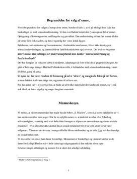Seksualundervisning i biologi | Undervisningsforløb
