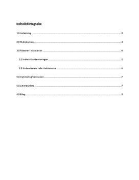 Inklusion af socialt og fagligt svage elever   Praktikopgave
