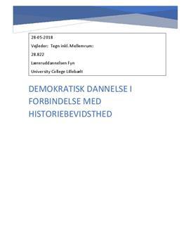 Demokratisk dannelse og historiebevidsthed