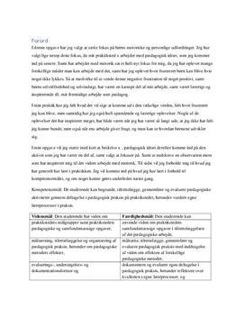 Præsentationsportfolio fra 1. praktik