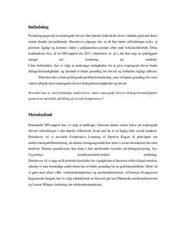 DPO i undervisning af tosprogede