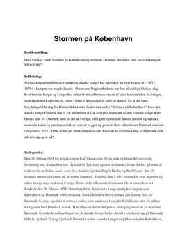 Stormen på København | DPO