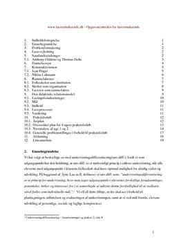 Faktorer ved differentieret undervisning