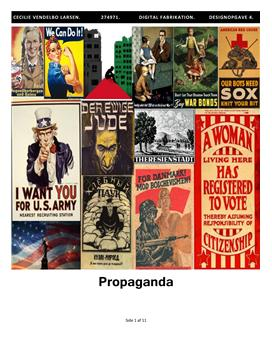 Digital fabrikation | Propaganda