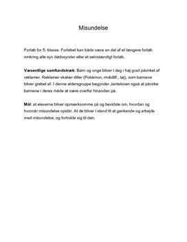 Undervisningsforløb om de syv dødssynder