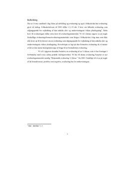 Summativ og formativ evaluering