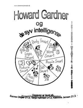 Gardners 7 Intelligenser L