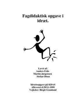 Fagdidaktik - Volleyball