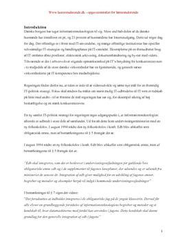 Bacheloropgave om informationsteknologi