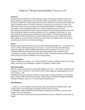 Drengen med sølvhjelmen | Analyse