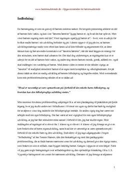 Bacheloropgave om billedsproglig udvikling