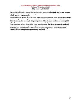 Analyse af elevproduceret tekst med fokus på sætningsskema