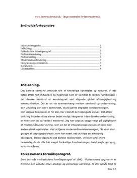 Tosprogede-elever | Eksamensopgave