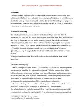 Semesteropgave om folkeskolens legitimering