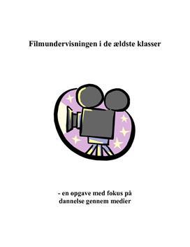 Bacheloropgave om filmundervisning