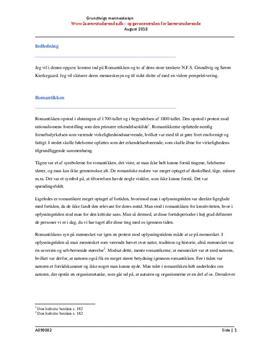 Grundtvig og Kierkegaards menneskesyn