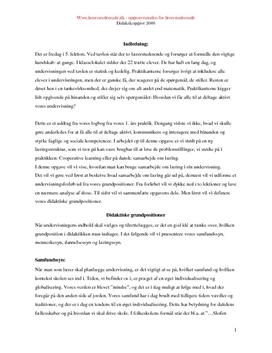 Eksamensopgave om Cooperative Learning