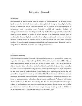Integration | Ziehe, Khader og Bouchet