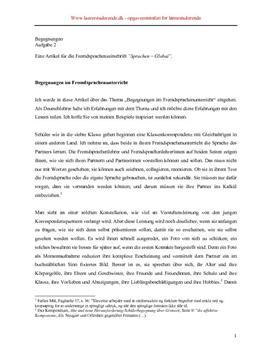 Begegnungen 2005 | Skriftlig eksamen tysk