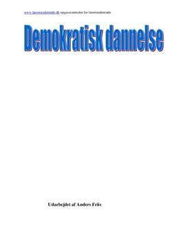 Klafki og demokratisk dannelse | Eksamensopgave