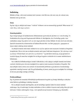 Ondskab i billedkunst | Synopsis