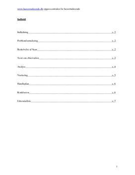 Semesteropgave om individ og specialundervisning