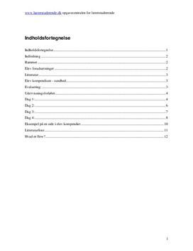 Undervisningsforløb om sundhed i madkundskab