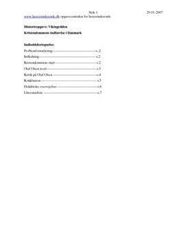 Kristendommens indførelse | Synopsis