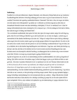 Bacheloropgave om sundhed, selvværd og læring