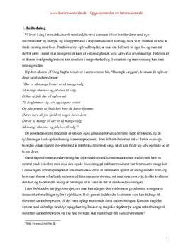 Litteratur og dannelse | Bacheloropgave