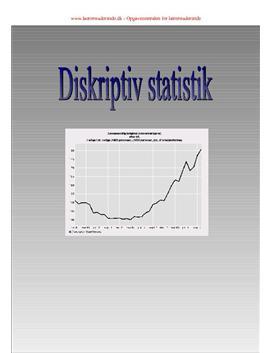 Statistik 10. klasse undervisningsforløb
