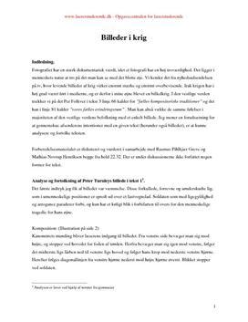 skriftlig dansk eksamen