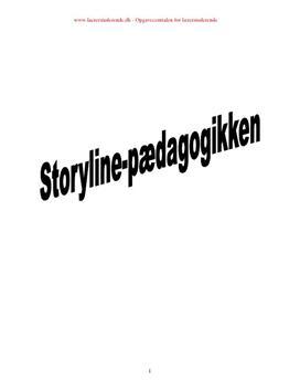 Storylinepædagogikken eksamensopgave