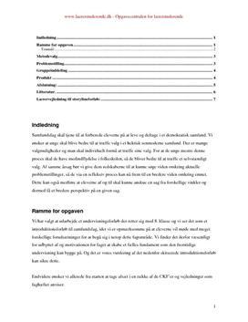 Undervisningsforløb om demokrati 8. klasse