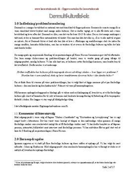 Den multikulturelle skole | Semesteropgave