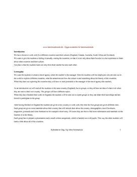 Undervisningsforløb om kultur i engelsksprogede lande