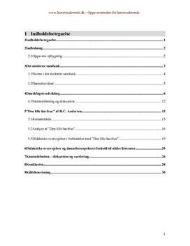Bacheloropgave om ældre litteratur i folkeskolen