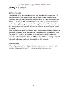 Bioteknologi og diabetes