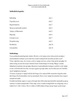 Matematik og sprog   Vygotsky
