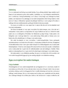 Undervisningsforløb om skoven | Biologi