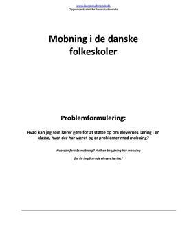 mobning citater Illeris og Tønnesvang om mobning   Lærerstuderende.dk mobning citater