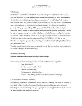 Filosofi i Skolen